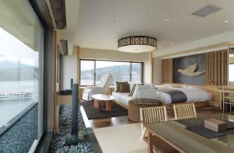 別館客室 展望風呂付和洋特別室